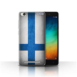 STUFF4 Case/Cover for Xiaomi Redmi 3 / Finland/Finnish Design / Flags Collection Mobile phones