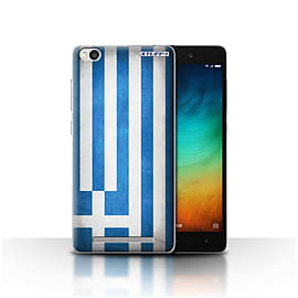 STUFF4 Case/Cover for Xiaomi Redmi 3 / Greece/Greek Design / Flags Collection Mobile phones