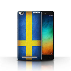 STUFF4 Case/Cover for Xiaomi Redmi 3 / Sweden/Swedish Design / Flags Collection Mobile phones