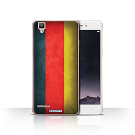 STUFF4 Case/Cover for Oppo F1 / Germany/German Design / Flags Collection Mobile phones