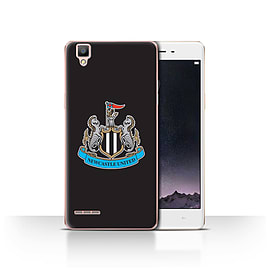 Official Newcastle United FC Case/Cover for Oppo F1/Colour/Black Design/NUFC Football Crest Mobile phones