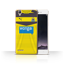 Official Newcastle United FC Case/Cover for Oppo F1/Goalkeeper Design/NUFC Home Shirt/Kit 15/16 Mobile phones