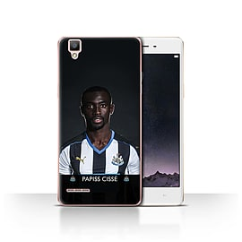 Official Newcastle United FC Case/Cover for Oppo F1/Ciss? Design/NUFC Football Player 15/16 Mobile phones