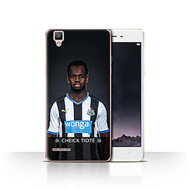 Official Newcastle United FC Case/Cover for Oppo F1/Tiot? Design/NUFC Football Player 15/16 Mobile phones