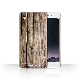 STUFF4 Case/Cover for Oppo F1 / Driftwood Design / Wood Grain Effect/Pattern Collection Mobile phones