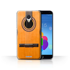 STUFF4 Case/Cover for Meizu M3 Note / Wood/Wooden Acoustic Design / Guitar Collection Mobile phones