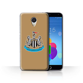 Official Newcastle United FC Case/Cover for Meizu M3 Note/Colour/Gold Design/NUFC Football Crest Mobile phones