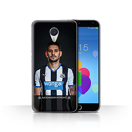 Official Newcastle United FC Case/Cover for Meizu M3 Note/Mitrovic Design/NUFC Football Player 15/16 Mobile phones