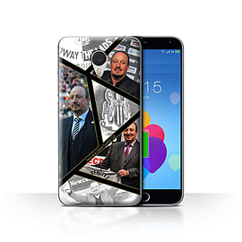 Official Newcastle United FC Case/Cover for Meizu M3 Note/Montage Design/NUFC Rafa Ben?tez Mobile phones