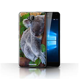 STUFF4 Case/Cover for Microsoft Lumia 650 / Koala Bear Design / Wildlife Animals Collection Mobile phones