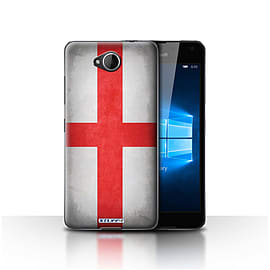 STUFF4 Case/Cover for Microsoft Lumia 650 / England/English Design / Flags Collection Mobile phones