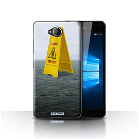 STUFF4 Case/Cover for Microsoft Lumia 650 / Wet Floor Design / Imagine It Collection Mobile phones
