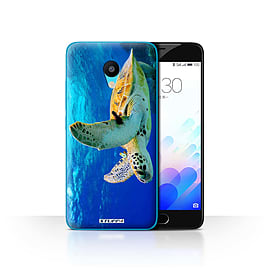 STUFF4 Case/Cover for Meizu M3 / Turtle Design / Wildlife Animals Collection Mobile phones