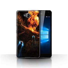 Official Chris Cold Case/Cover for Microsoft Lumia 650/Chaos Unleashed Design/Alien World Cosmos Mobile phones