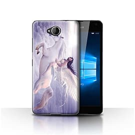 STUFF4 Case/Cover for Microsoft Lumia 650 / I Can Fly Design / Fantasy Angel Collection Mobile phones