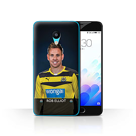 Official Newcastle United FC Case/Cover for Meizu M3/Elliot Design/NUFC Football Player 15/16 Mobile phones