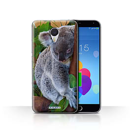 STUFF4 Case/Cover for Meizu M3 Note / Koala Bear Design / Wildlife Animals Collection Mobile phones