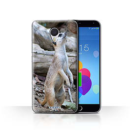 STUFF4 Case/Cover for Meizu M3 Note / Meerkat Design / Wildlife Animals Collection Mobile phones