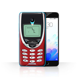 STUFF4 Case/Cover for Meizu M3 / Red Nokia 8210 Design / Retro Phones Collection Mobile phones