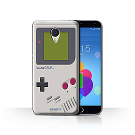 STUFF4 Case/Cover for Meizu M3 Note / Nintendo Game Boy Design / Games Console Collection Mobile phones
