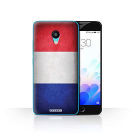 STUFF4 Case/Cover for Meizu M3 / France/French Design / Flags Collection Mobile phones