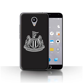 Official Newcastle United FC Case/Cover for Meizu M2/Mono/Black Design/NUFC Football Crest Mobile phones