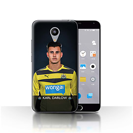 Official Newcastle United FC Case/Cover for Meizu M2/Darlow Design/NUFC Football Player 15/16 Mobile phones