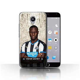 Official Newcastle United FC Case/Cover for Meizu M2/Saivet Design/NUFC Football Player 15/16 Mobile phones