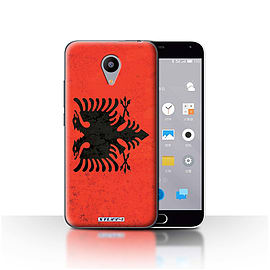 STUFF4 Case/Cover for Meizu M2 / Albania/Albanian Design / Flags Collection Mobile phones