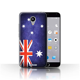 STUFF4 Case/Cover for Meizu M2 / Australia/Australian Design / Flags Collection Mobile phones