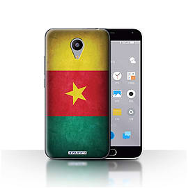 STUFF4 Case/Cover for Meizu M2 / Cameroon/Cameroonian Design / Flags Collection Mobile phones