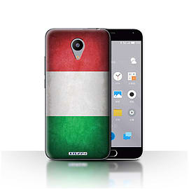 STUFF4 Case/Cover for Meizu M2 / Italy/Italian Design / Flags Collection Mobile phones