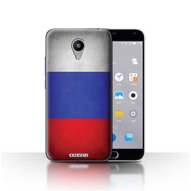 STUFF4 Case/Cover for Meizu M2 / Russia/Russian Design / Flags Collection Mobile phones