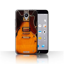 STUFF4 Case/Cover for Meizu M2 / Semi Acoustic Design / Guitar Collection Mobile phones