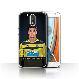 Newcastle United FC Case/Cover for Motorola Moto G4 2016/Darlow Design/NUFC Football Player 15/16 Mobile phones