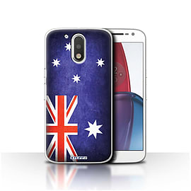 STUFF4 Case/Cover for Motorola Moto G4 Plus 2016 / Australia/Australian Design / Flags Collection Mobile phones