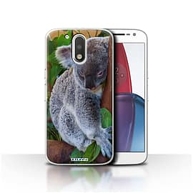 STUFF4 Case/Cover for Motorola Moto G4 Plus 2016 / Koala Bear Design / Wildlife Animals Collection Mobile phones