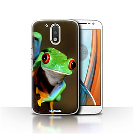 STUFF4 Case/Cover for Motorola Moto G4 2016 / Frog Design / Wildlife Animals Collection Mobile phones