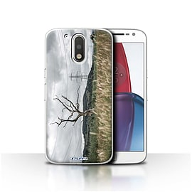 STUFF4 Case/Cover for Motorola Moto G4 Plus 2016 / Electric Tree Design / Imagine It Collection Mobile phones