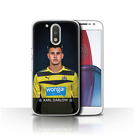 Official NUFC Case/Cover for Motorola Moto G4 Plus 2016/Darlow Design/NUFC Football Player 15/16 Mobile phones