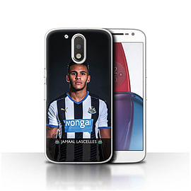 Official NUFC Case/Cover for Motorola Moto G4 Plus 2016/Lascelles Design/NUFC Football Player 15/16 Mobile phones