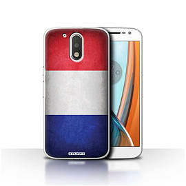 STUFF4 Case/Cover for Motorola Moto G4 2016 / France/French Design / Flags Collection Mobile phones