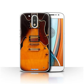 STUFF4 Case/Cover for Motorola Moto G4 2016 / Semi Acoustic Design / Guitar Collection Mobile phones