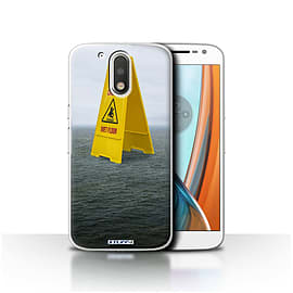 STUFF4 Case/Cover for Motorola Moto G4 2016 / Wet Floor Design / Imagine It Collection Mobile phones