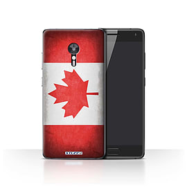 STUFF4 Case/Cover for Lenovo ZUK Z2 Pro / Canada/Canadian Design / Flags Collection Mobile phones
