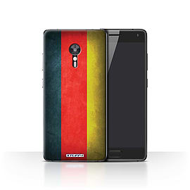STUFF4 Case/Cover for Lenovo ZUK Z2 Pro / Germany/German Design / Flags Collection Mobile phones