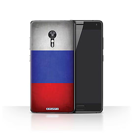 STUFF4 Case/Cover for Lenovo ZUK Z2 Pro / Russia/Russian Design / Flags Collection Mobile phones