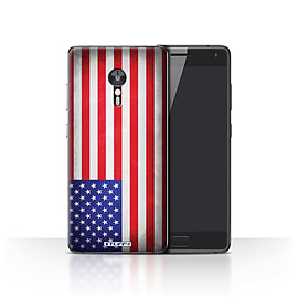 STUFF4 Case/Cover for Lenovo ZUK Z2 Pro / America/American/USA Design / Flags Collection Mobile phones