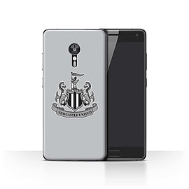 Official Newcastle United FC Case/Cover for Lenovo ZUK Z2 Pro/Mono/Grey Design/NUFC Football Crest Mobile phones