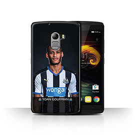 Newcastle United FC Case/Cover for Lenovo Vibe K4 Note/Gouffran Design/NUFC Football Player 15/16 Mobile phones